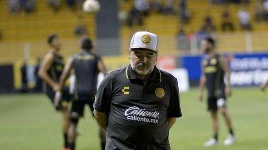 Maradona tiene un gran reto por delante. EFE