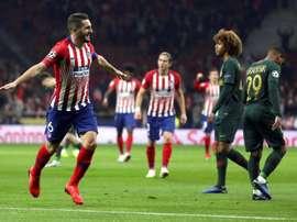 Koke n'a pas peur de Liverpool. EFE