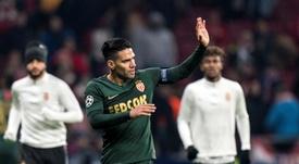 Falcao quiere irse del Mónaco y le sitúan en el Valencia. EFE