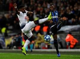 Aurier, dans le viseur du Milan AC. EFE