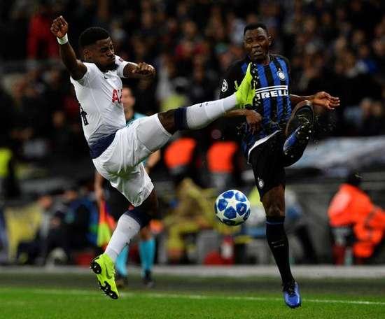 El estadio del Inter se cerrará dos partidos por los insultos racistas. EFE