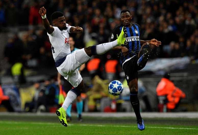 Aurier podría poner rumbo a Milán. EFE