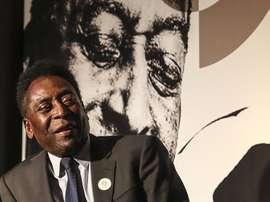Pelé has seen aspects of his own style in Kylian Mbappé. EFE