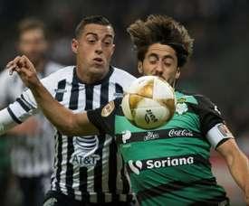 Funes Mori anotó el único gol. EFE