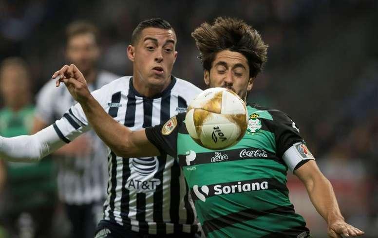 Le Werder Brême souhaite pêcher à Santos Laguna. EFE