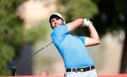El golfista español Adrian Otaegui. EFE/Archivo