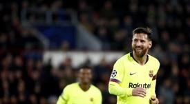 Messi le ha metido 22 goles a clubes ingleses, pero no son su víctima favorita. EFE/Archivo