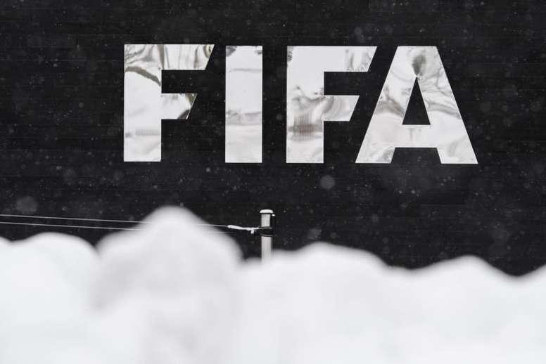 LA FIFA celebró la liberación del futbolista. EFE/Archivo