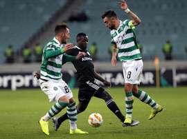 Bruno Fernandes pourrait prendre la direction de la Premier League. EFE