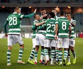 El Sporting de Portugal ha goleado al Qarabag. EFE