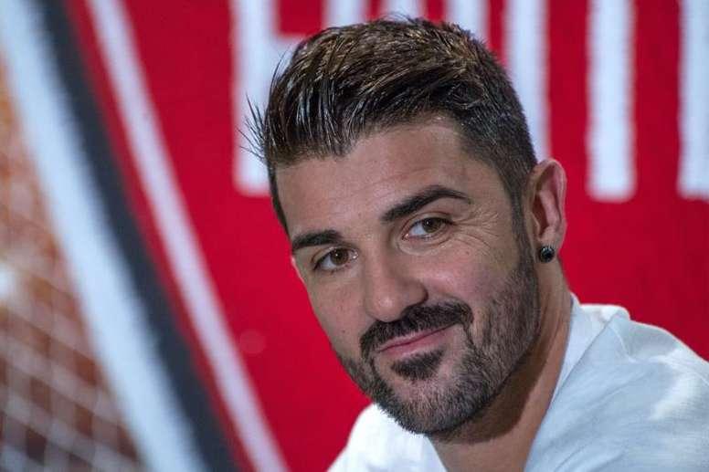 David Villa habló del futuro de 'la Roja'. EFE