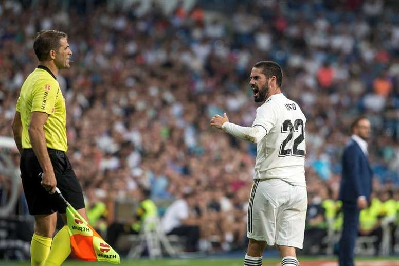 Isco continue d'être au centre des attentions. EFE