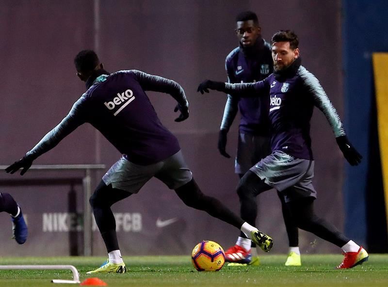 Barcelone reprend provisoirement la tête de la Liga, Dembélé passeur — Liga