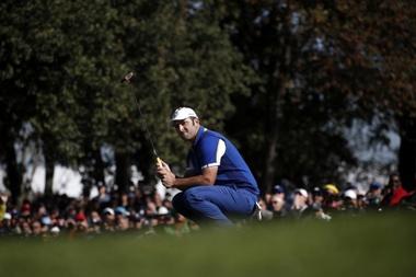 En la imagen, el golfista español Jon Rahm. EFE/Archivo