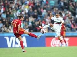 España dominó pero no consiguió marcharse en el marcador. EFE