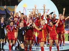 España consiguió su primera corona mundialista. EFE