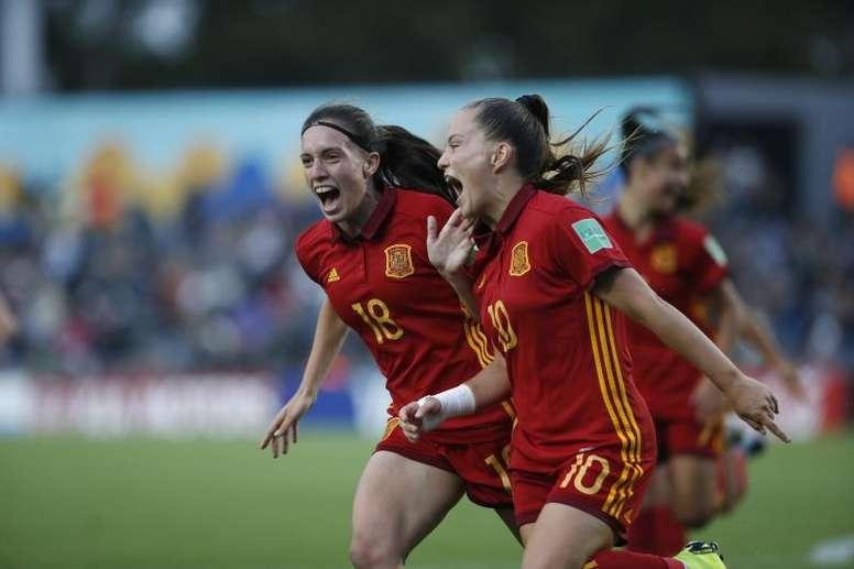 Premio para España Sub 17. EFE