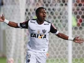 Atlético Mineiro se impuso por alto a Uruguay. EFE