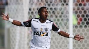 Cazares dio la clasificación a Atlético Mineiro con su gol. EFE