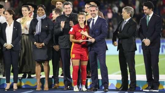 Título histórico para el fútbol español femenino. EFE