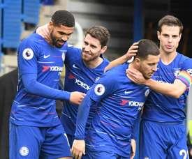 El Chelsea sacó adelante el partido. EFE