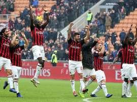 Los 'rossoneri' ganaron 2-1 en casa del Parma. EFE
