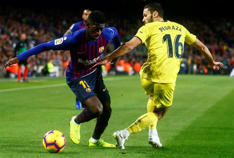 Dembele had a strong outing. EFE