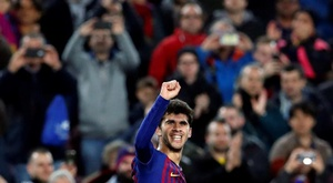 Aleña thinks Messi is number one in the world. EFE