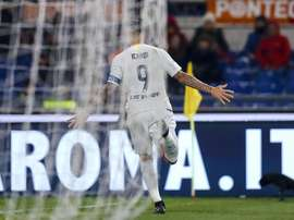 Icardi no bastó para dar el triunfo al Inter. EFE/EPA