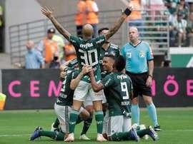 Nuevo triunfo para Palmeiras. EFE