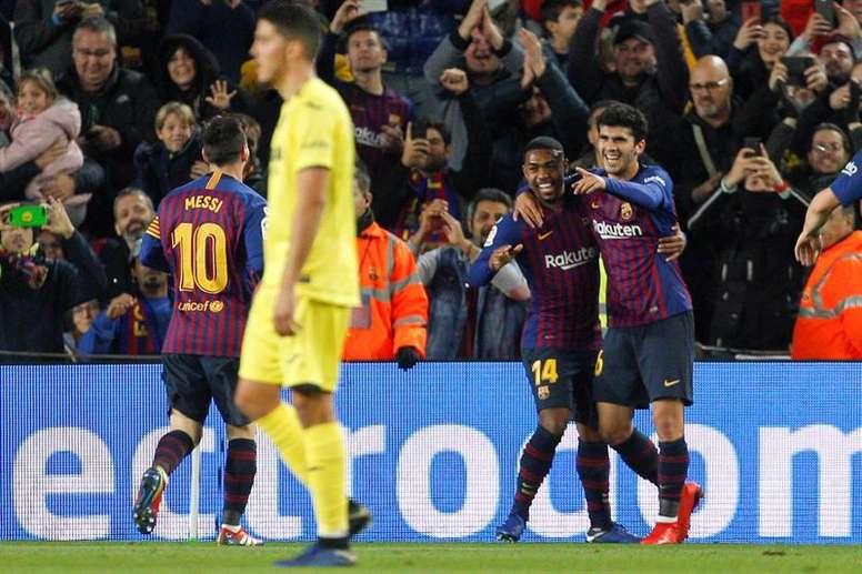 Uma década do Villarreal sem vencer no Camp Nou. EFE