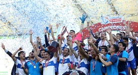 Universidad Católica se impuso con contundencia a Palestino y se llevó la Supercopa. EFE/Archivo
