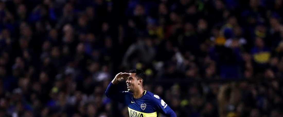 A frustrada volta de Cardona ao Boca Juniors. EFE