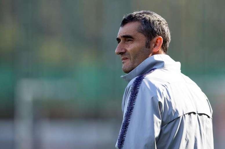 Valverde sigue dando vueltas a su futuro. EFE