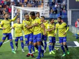 El Cádiz lleva siete victorias consecutivas. EFE/Archivo