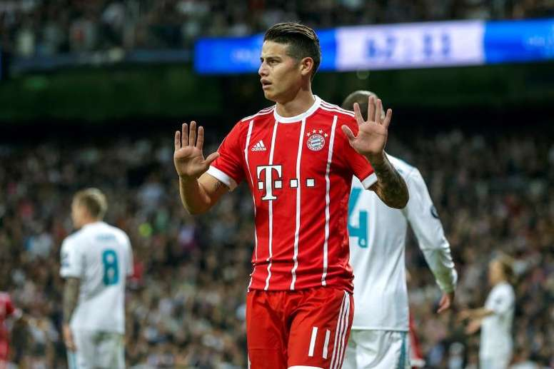 James may be left with no option but to leave Bayern. EFE