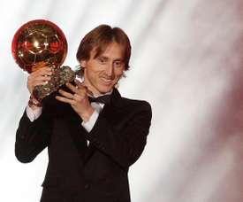 Modric a réussi à remporter le Ballon d'Or. EFE