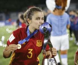 Ana Tejada no se conforma con un Mundial. EFE