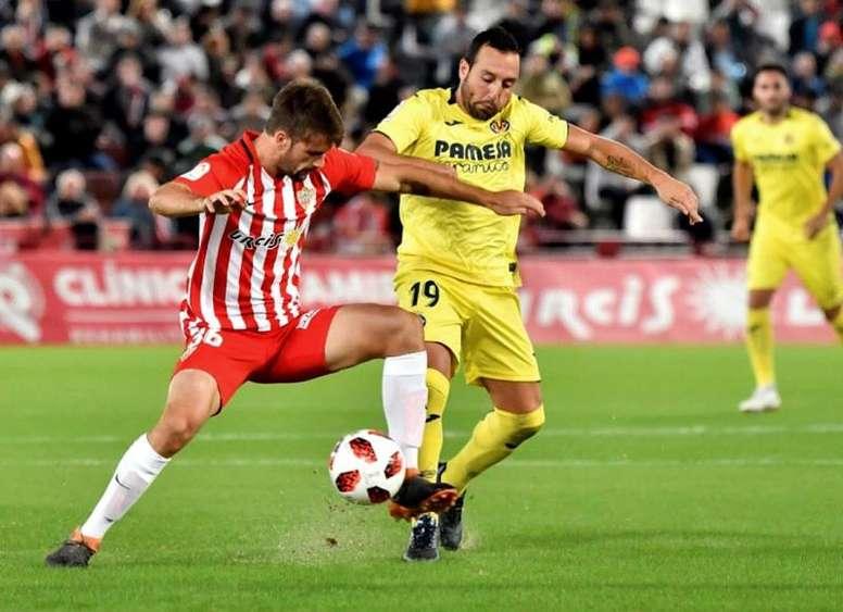 El Villarreal quiere estar en la siguiente ronda. EFE