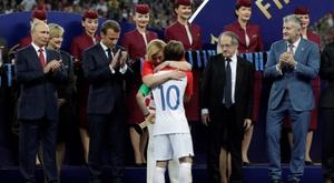 Modric sigue siendo el líder del combinado croata. EFE