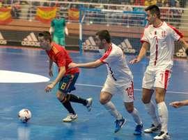 Segunda victoria consecutiva ante Serbia. EFE