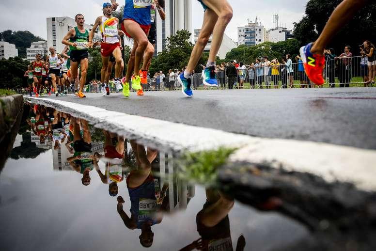 Imagen del Maratón masculino de los Juegos Olímpicos de Brasil 2016. EFE/Archivo