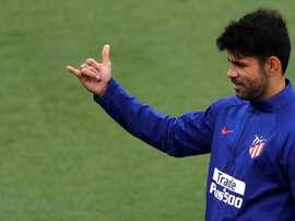 Costa pourra être de retour dans huit ou neuf semaines. EFE