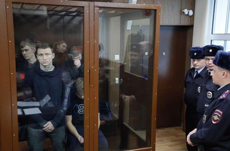 Pavel Mamaev no saldrá de prisión antes de Navidad. EFE/Archivo