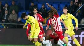 Sekou Gassama était voué à quitter Almeria. EFE