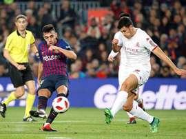 Le futur de Munir semble l'envoyer loin du Camp Nou. EFE