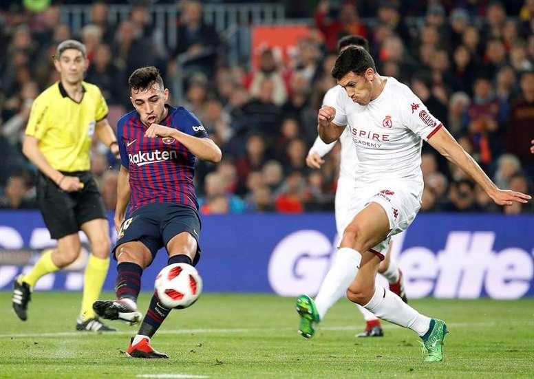 El futuro de Munir parece estar lejos del Camp Nou. EFE