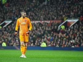 Manchester United David De Gea. AFP