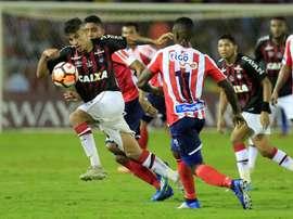 Le Zenit s'interpose entre l'Atlético et Lodi. EFE