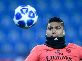 Casemiro gives his opinion on Busquets. EFE